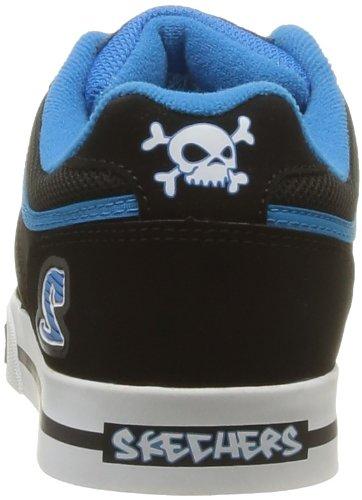 Skechers Vert II 91476L CCLB - Zapatillas para niño Negro (Noir (Bklb))