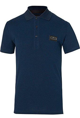 b0f28bf1df Philipp Plein Miracle Limited Edition Polo 100% Cotton Navy Sz XL RRP £338   Amazon.co.uk  Clothing