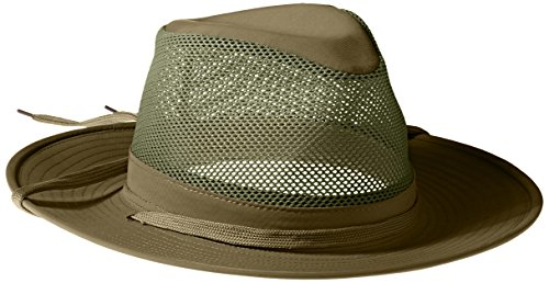 Henschel Men's Aussie Crushable Hat, Olive, ()