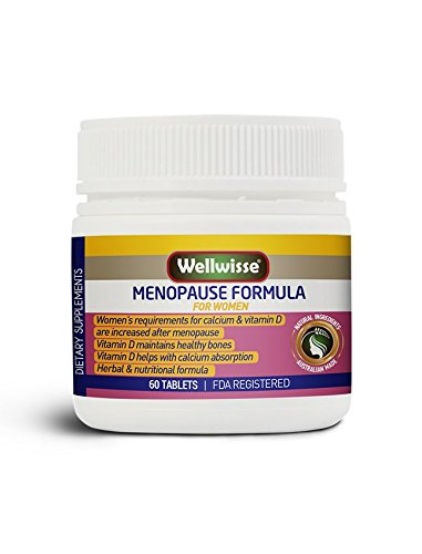 Wellwisse Menopause Formula for Women - 60 tablets