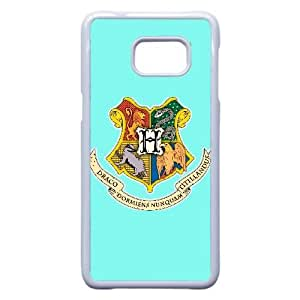Personalized Durable Cases Samsung Galaxy S6 Edge Plus Cell Phone Case White The Four Houses of Hogwarts Harry Potter Nbstmd Protection Cover