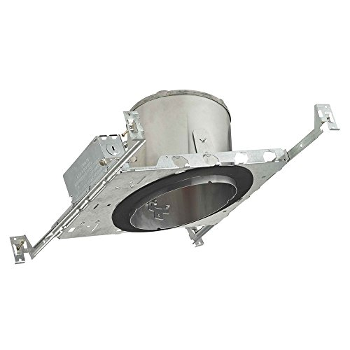 (6-Inch New Construction E26 Recessed Can Light IC & Airtight Slope Ceiling)