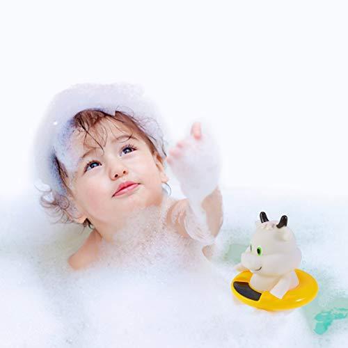 Yardwe Baby Badethermometer Schwimmbad Badewanne Thermometer f/ür Schwimmende Pool Whirlpool Teich Spa Kalb