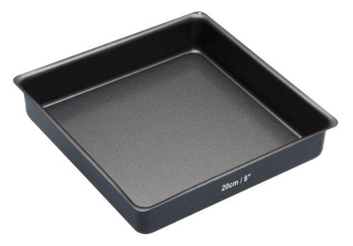 Kitchencraft Masterclass Non-stick Square Sandwich Tin With Loose Base, 20cm