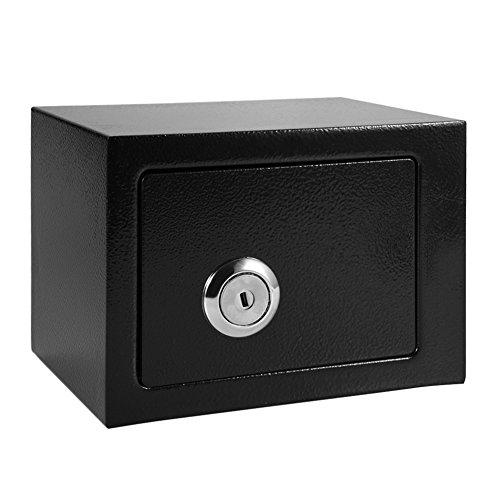 Yosoo Durable Alta Seguridad Caja Fuerte de Acero Funcionamiento con Llaves Almacenamiento de Efectivo para Casa y Oficina: Amazon.es: Industria, empresas y ciencia
