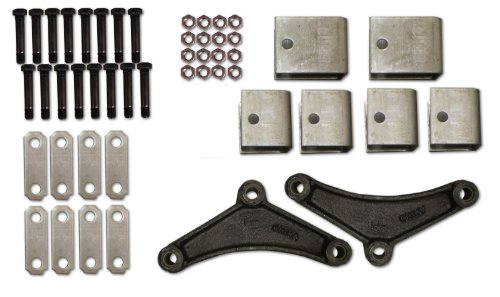 R and P Carriages 7000# Tandem Axle Spring Hanger Kit