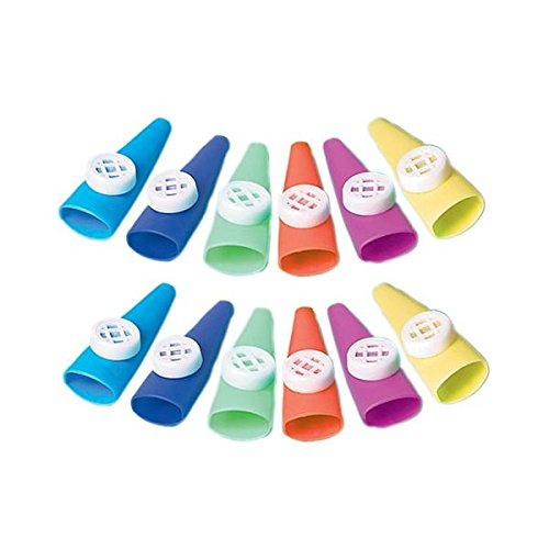 Kazoo Toys - Large Kazoos | Party Favor | Pack of 12