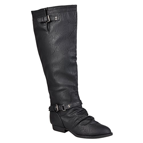 Brinley Co. Women's Tall Wide Calf Boots
