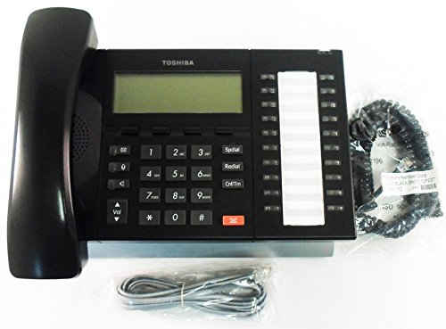 Toshiba Strata DP5032-SD 20-Button LCD Display Speakerphone (Black) (Renewed) (Sd Toshiba)