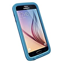 LifeProof FRE Samsung Galaxy S6 Waterproof Case - Retail Packaging - BASE JUMP BLUE (BASE BLUE/SNOWCONE BLUE)