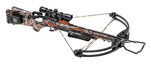 Wicked Ridge by TenPoint Invader G3 Crossbow Package with ACUdraw, Mossy Oak Treestand Camo, One Size