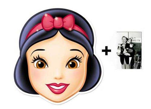 Snow White card Karte Partei Gesichtsmasken (Maske) (Disney Princess ...