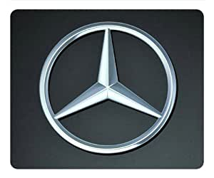 Mercedes benz logo 005 rectangle mouse pad by for Mercedes benz accessories amazon