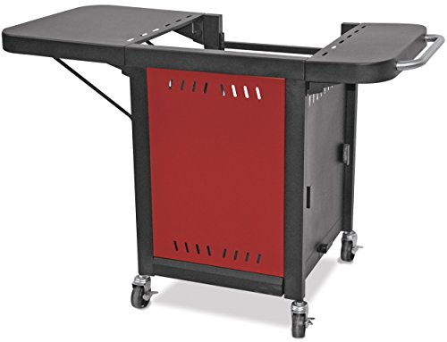 Mr. Pizza ZOC1509M Pizza Oven Grill Cart, Red/Black by Mr. Pizza