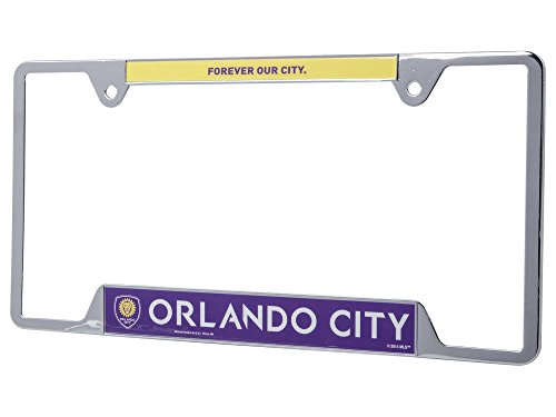fan products of SOCCER Orlando City SC Metal License Plate Frame