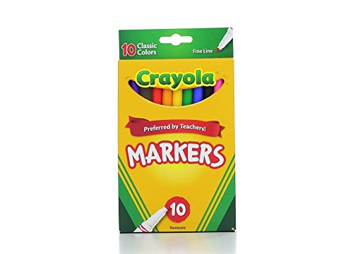 Crayola 58 7726 Classic Markers Assorted