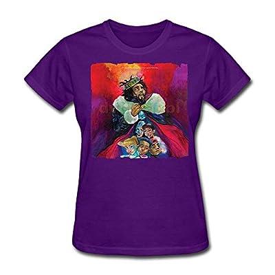 J-Cole Women's Cool Short Sleeve T-Shirt Purple