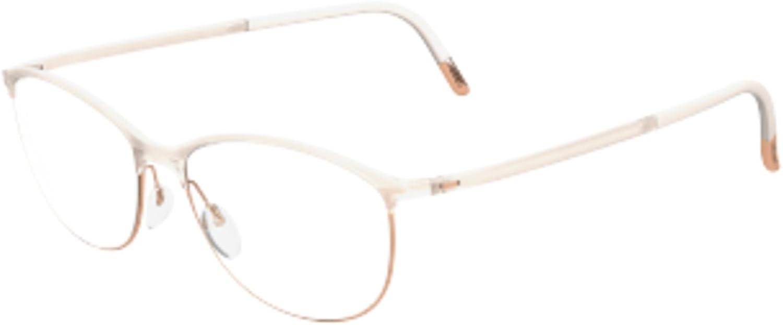 Eyeglasses Silhouette SPX Illusion Full Rim 1563 6106 ivory 53//14//130 3 piece fr