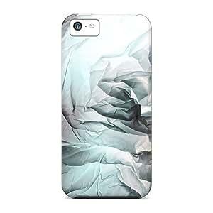 Special Charming YaYa Skin Case Cover For Iphone 5c, Popular Cellophane Heart Phone Case wangjiang maoyi