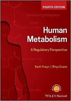Human Metabolism: A Regulatory Perspective por Keith N. Frayn epub