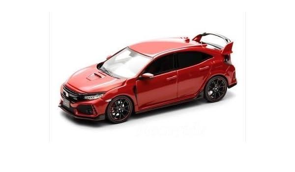 Amazon.com: Honda custom 1/43 Honda Civic Type R 2017 FK8 frame Red: Toys & Games