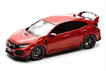 Honda custom 1/43 Honda Civic Type R 2017 FK8 frame Red
