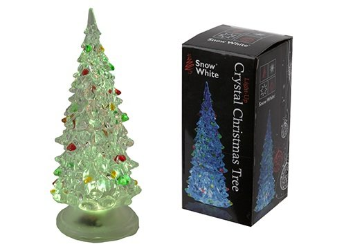 Christmas Shop Christmas Decoration Crystal Miniature Light Up  - Miniature Christmas Trees With Lights