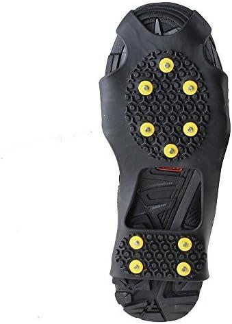 Anti-Slip Ice Snow Hiking Climbing Shoe Spike Cleats Crampons Gripper Overshoe