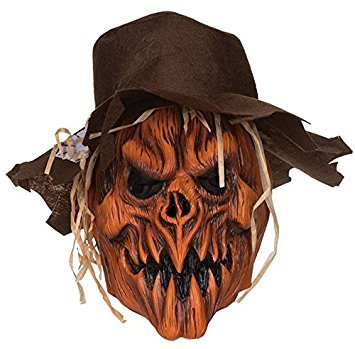 Bristol Novelty BM468 Scarecrow Skull Hat, One Size (Mask Scarecrow Latex)