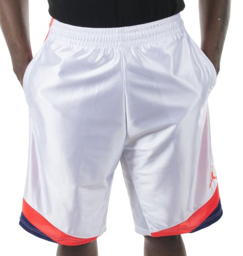 6a8ce85c0a9774 Mens Jordan Court Vision Basketball Shorts White Germain Blue Infrared  576638-104 Size Medium - Buy Online in UAE.