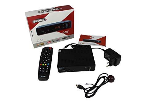 BLOMC ONE IPTV Setup Box voor Stalker en XtreamCode Portalen (MAG254,256,322 Alternatief) -Zwart