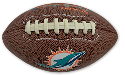 (Jarden Sports Licensing Official National Football League Fan Shop Authentic NFL AIR IT Out Youth Football. Great for Pick up Game with The Kids. (Miami Dolphins))