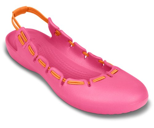 orange Hot Flat Slingback Springi Pink Crocs q8TxHH