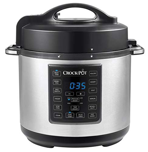Crock-Pot Express Pressure Cooker CSC051, 12-in-1 Programmable...