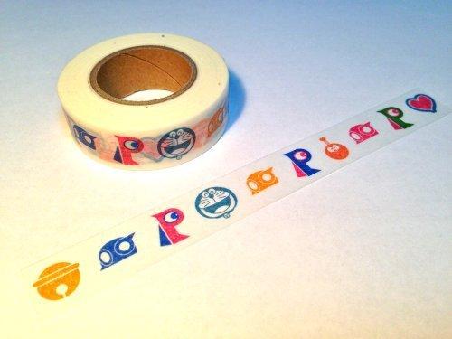 Masking tape a icon Fujiko ? F ? Fujio Museum limited [Doraemon, Kiteretsu Daihyakka, Perman, Esper Mami]