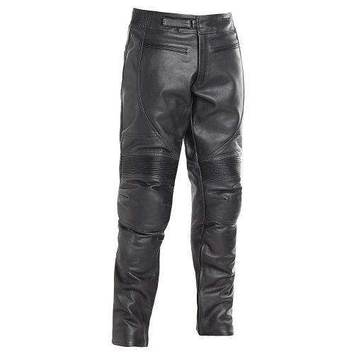 BILT Spirit Leather Motorcycle Pants - 34, Black