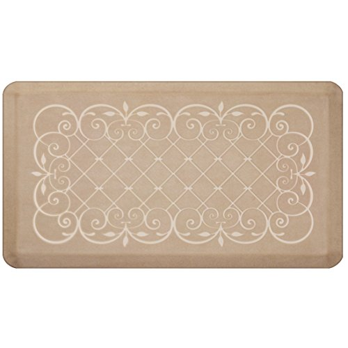 (Smart Step Home Collection Anti-Fatigue Mat, Sand Dollar, 36