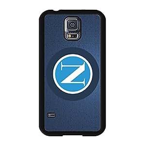 Samsung Galaxy S5 I9600 Phone Case Cover,Classical Official Societa Sportiva Calcio Napoli FC Logo Custom Phone Case for Samsung Galaxy S5 I9600