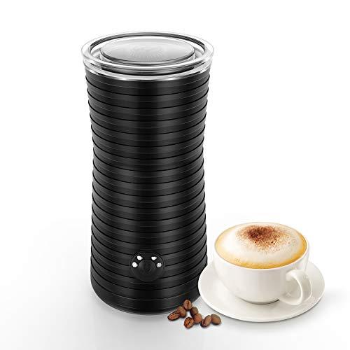 Keenstone ミルクフォーマー ミルク泡立て器 電動 ミルクフローサー プロ クリーマー 電動牛乳 ふわふわミルクを作る カプチーノ カフェラテ コーヒー ブラック