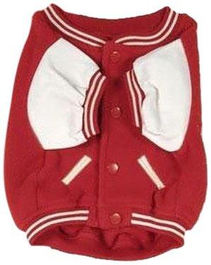 Sporty K9 Ohio State Varsity Dog Jacket, X-Small