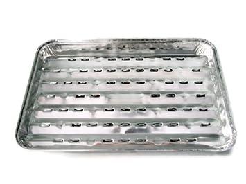Pack de 2 bandejas para catering/barbacoa/alumnino - Desechables