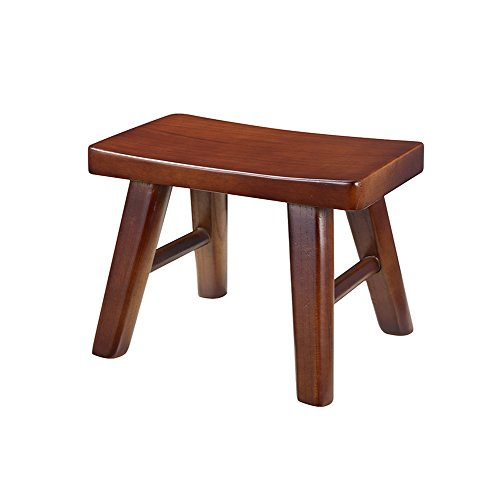 small bench Ash wood Shoe Shoe child adult Household Small wooden stool coffee table low stool Removable round Short leg sofa stool Wooden benc (Color : #1) (Ash Bench)