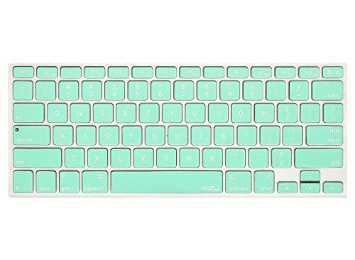 Kuzy - Mint GREEN Keyboard Cover Silicone Skin for MacBook P