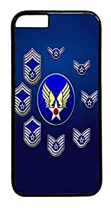 IMARTCASE iPhone 6 Case, United States Air Force Enlisted Stripes Customize Design Hard Case Cover for Apple iPhone 6 4.7