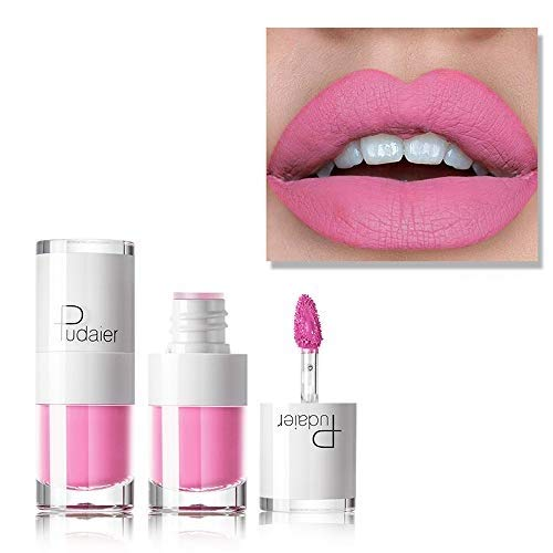HHBack New Long Lasting Lipstick Waterproof Matte Liquid Lip Gloss Lip Liner Cosmetics
