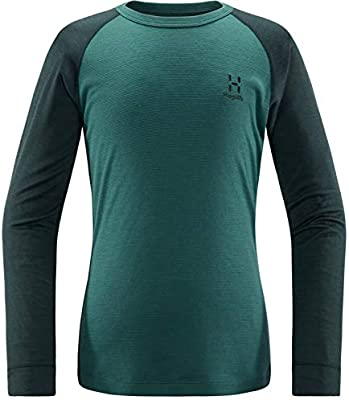 Haglöfs Actives Blend Camiseta Térmica, Niños, Mineral/Willow Green , 128: Amazon.es: Deportes y aire libre