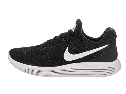 Noir Low de NIKE Anthracite Anthracite Flyknit W 2 Blanc Black Chaussures Medium Trail Lunarepic White Femme nz1aWHBzxU