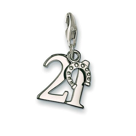 (Thomas Sabo Pendant Lucky Number 21 Clasp Style Charms)