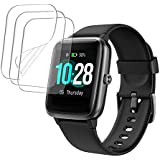 3-PACK smaate SOFT TPU Screen Protector for ID205L ID205 ID205U VeryFitPro Smart watch with 1.3inch Screen, Full…