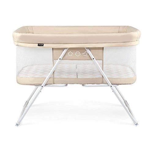 Admirable Amazon Com Rocking Bassinet Crib 2 In 1 Foldable Portable Ibusinesslaw Wood Chair Design Ideas Ibusinesslaworg